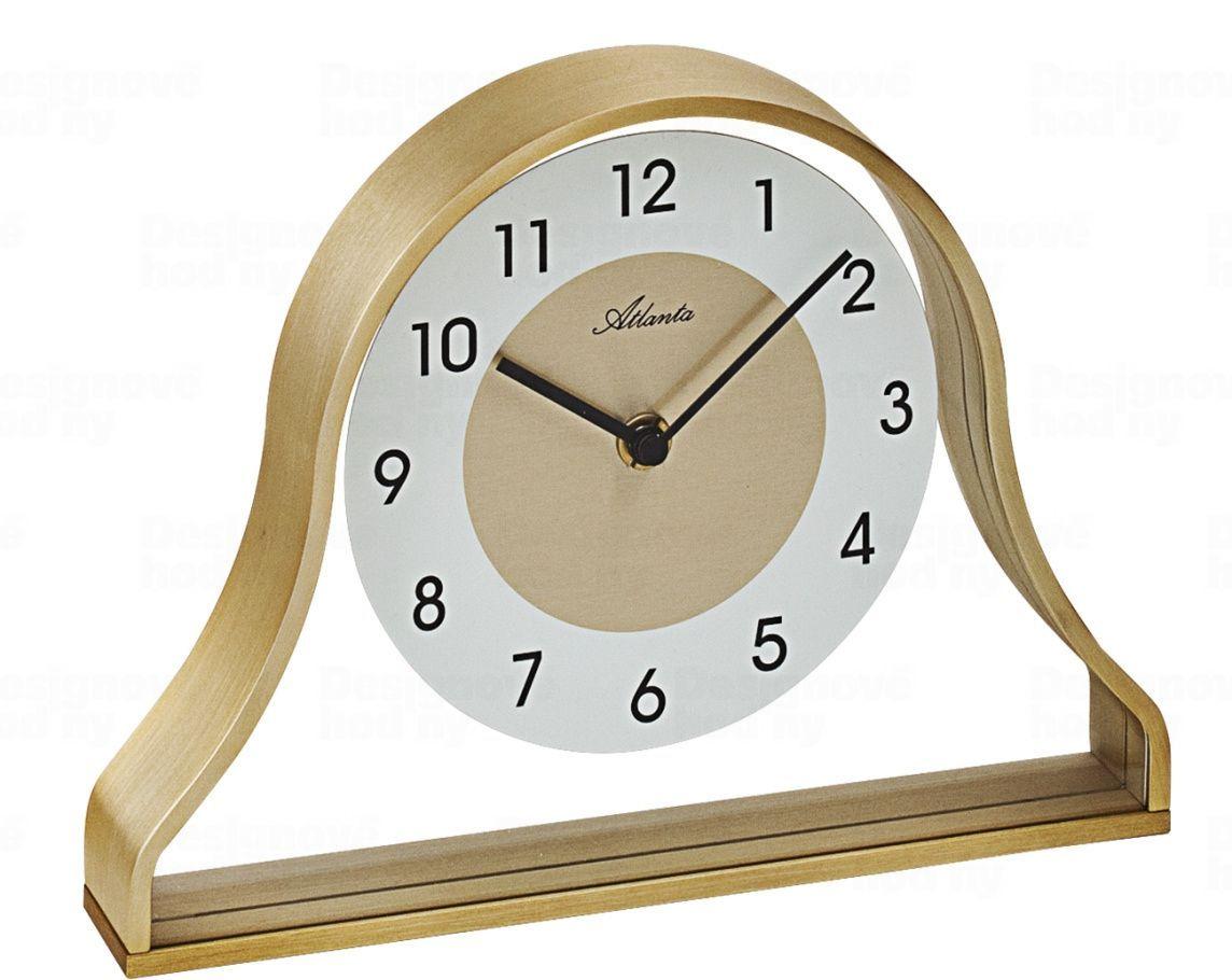 Designové stolní hodiny AT3124 Atlanta 24cm 169862 Hodiny