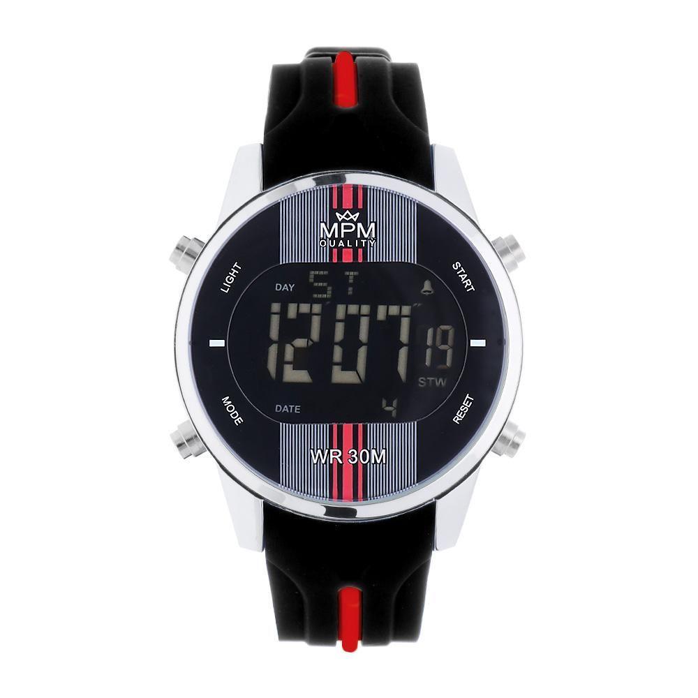 Pánské digitální hodinky nbsp MPM s barevným silikonovým řemínkem..01353  169012 A.Q07A9020C9020 11a9e9c60c
