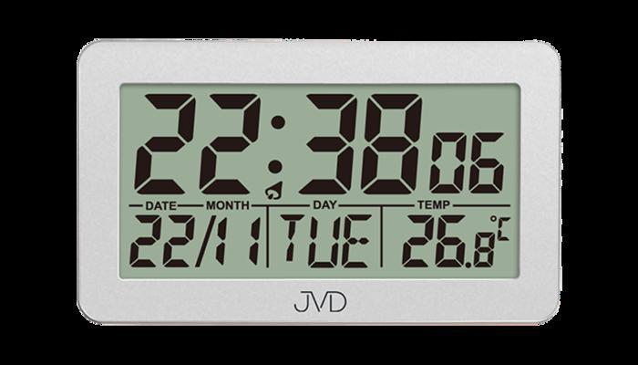 Rádiem řízený budík JVD stř. RB8203.2 169146 Hodinářství