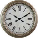 Retro nástěnné hodiny s římskými číslicemi..01507 169892