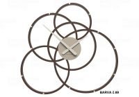 Designové hodiny 10-215 CalleaDesign Black Hole 59cm (více barevných verzí) Barva tmavě modrá klasik-75 - RAL5017 166413 Hodiny