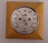 Pokojový barometr stříbrný 8070B.1 165927 H&H Hodiny