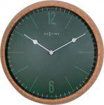 Designové nástěnné hodiny 3509gn Nextime Cork 30cm 169467