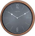 Designové nástěnné hodiny 3509gs Nextime Cork 30cm 169468
