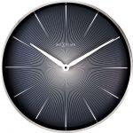Designové nástěnné hodiny 3511zw Nextime 2 Seconds 40cm 169472