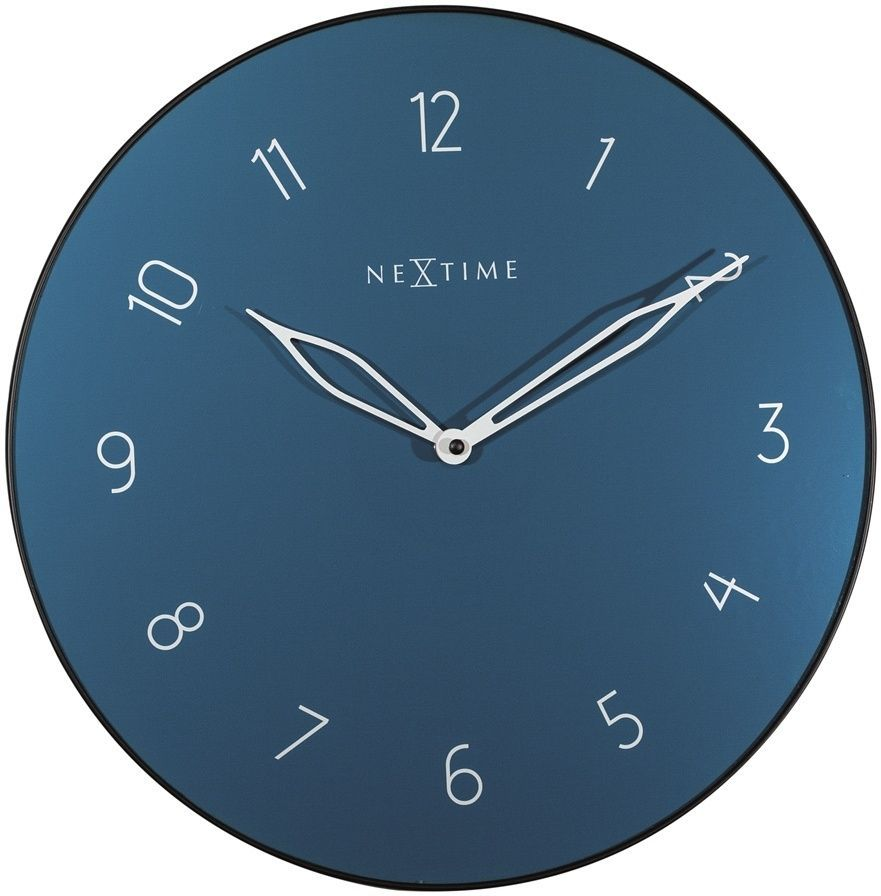 Designové nástěnné hodiny 8193bl Nextime Carousel 40cm 169473 Hodiny