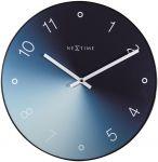 Designové nástěnné hodiny 8194bl Nextime Gradient 40cm 169476
