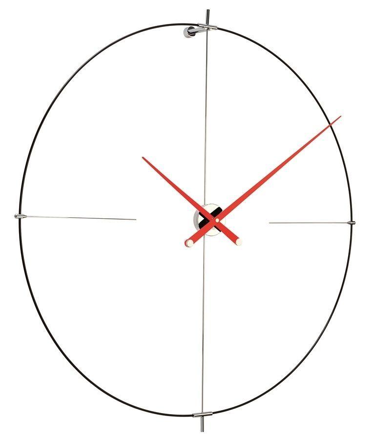 Designové nástěnné hodiny Nomon Bilbao L red 110cm 169281 Hodiny