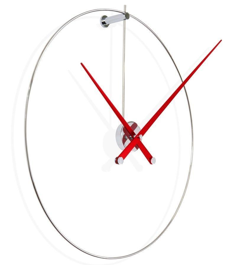 Designové nástěnné hodiny Nomon New Anda L red 100cm 169248 Hodiny