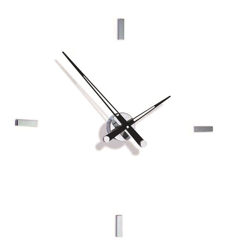 Designové nástěnné hodiny Nomon Tacon 4i black 73cm 169294 Hodiny