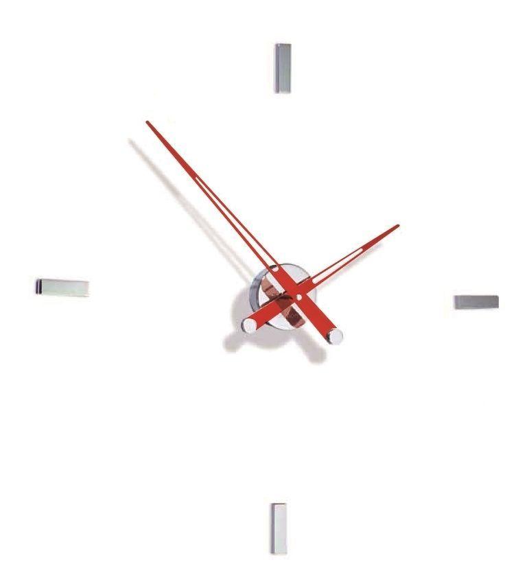 Designové nástěnné hodiny Nomon Tacon 4i red 73cm 169299 Hodiny