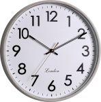 Klasické nástěnné hodiny s plynulým tichým chodem..01502 169426