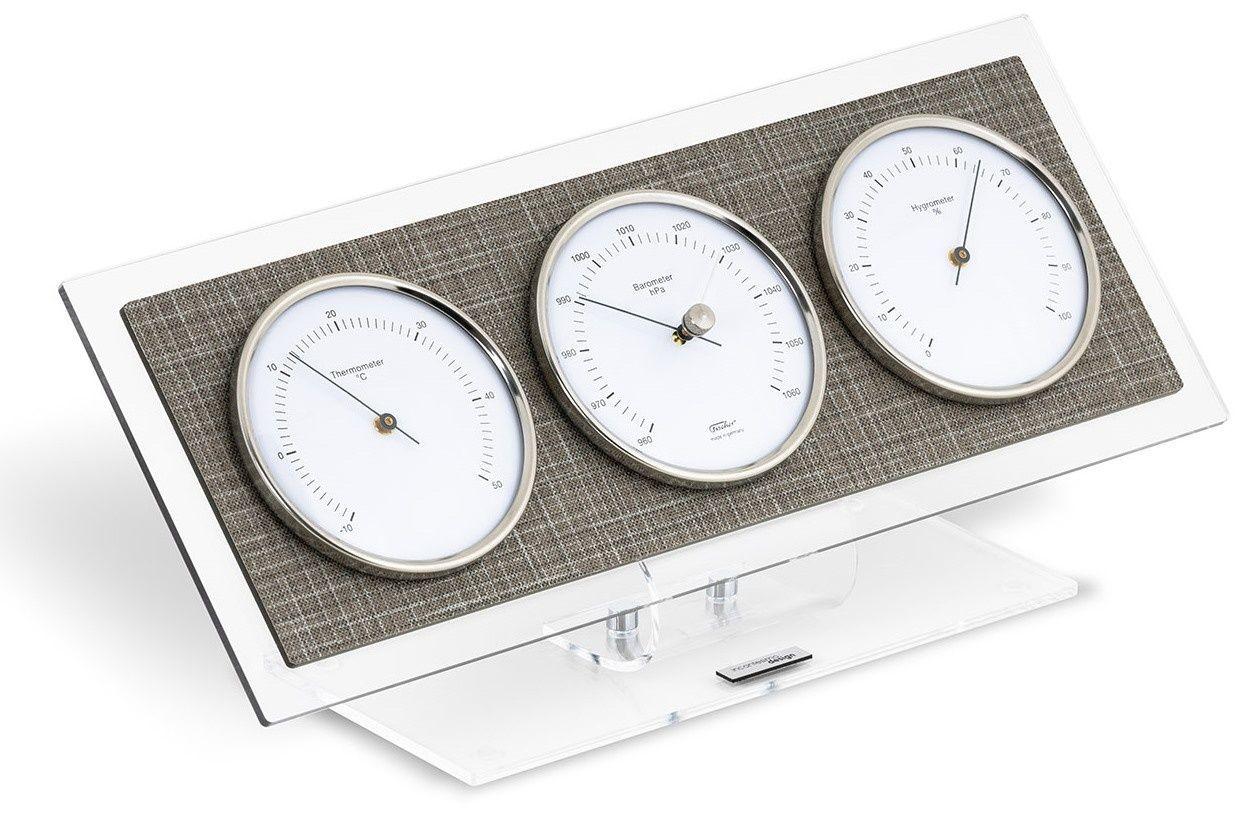 Designová stolní meteostanice-barometr I362TS IncantensimoDesign 33cm 169515 IncantesimoDesign Hodiny