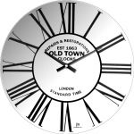 Designové nástěnné hodiny 14880 Lowell 34cm 169529