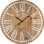 Designové nástěnné hodiny 21481 Lowell 60cm 169568