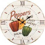 Designové nástěnné hodiny 21491 Lowell 34cm 169559