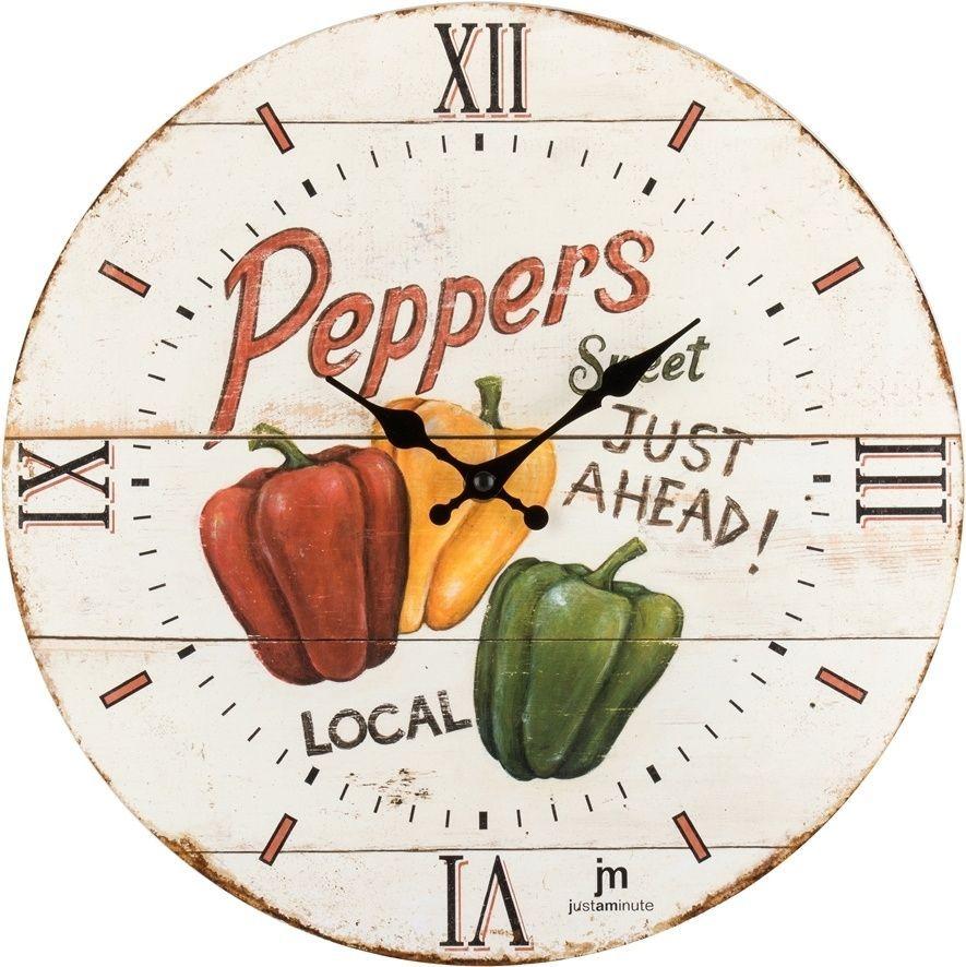 Designové nástěnné hodiny 21491 Lowell 34cm 169559 Lowell Italy Hodiny