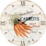 Designové nástěnné hodiny 21492 Lowell 34cm 169560