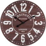 Designové nástěnné hodiny 21496 Lowell 60cm 169570