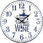Designové nástěnné hodiny 21509 Lowell 40cm 169612