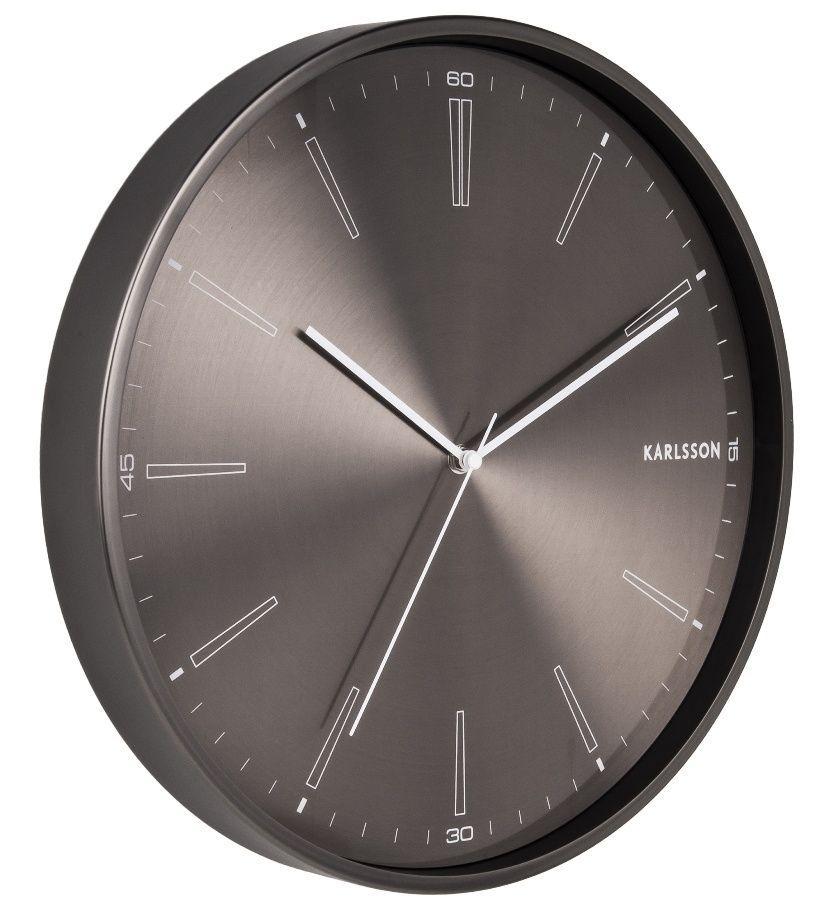 Designové nástěnné hodiny 5811GM Karlsson 40cm 169513 Hodiny