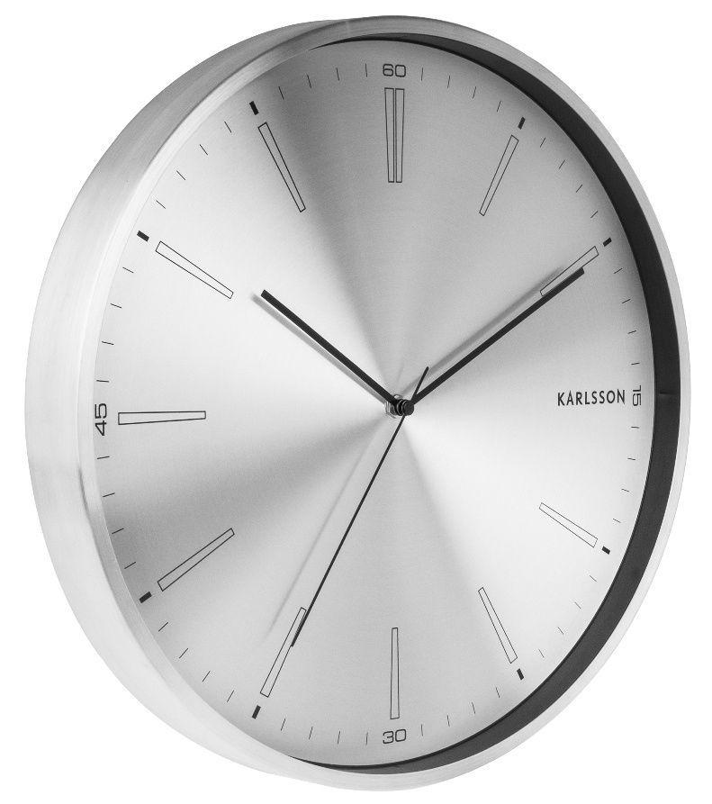 Designové nástěnné hodiny 5811SI Karlsson 40cm 169512 Hodiny