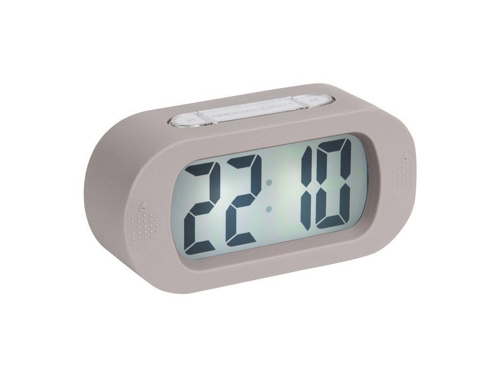 Stolní digitální hodiny-budík Karlsson KA5753GY 169503 Hodiny