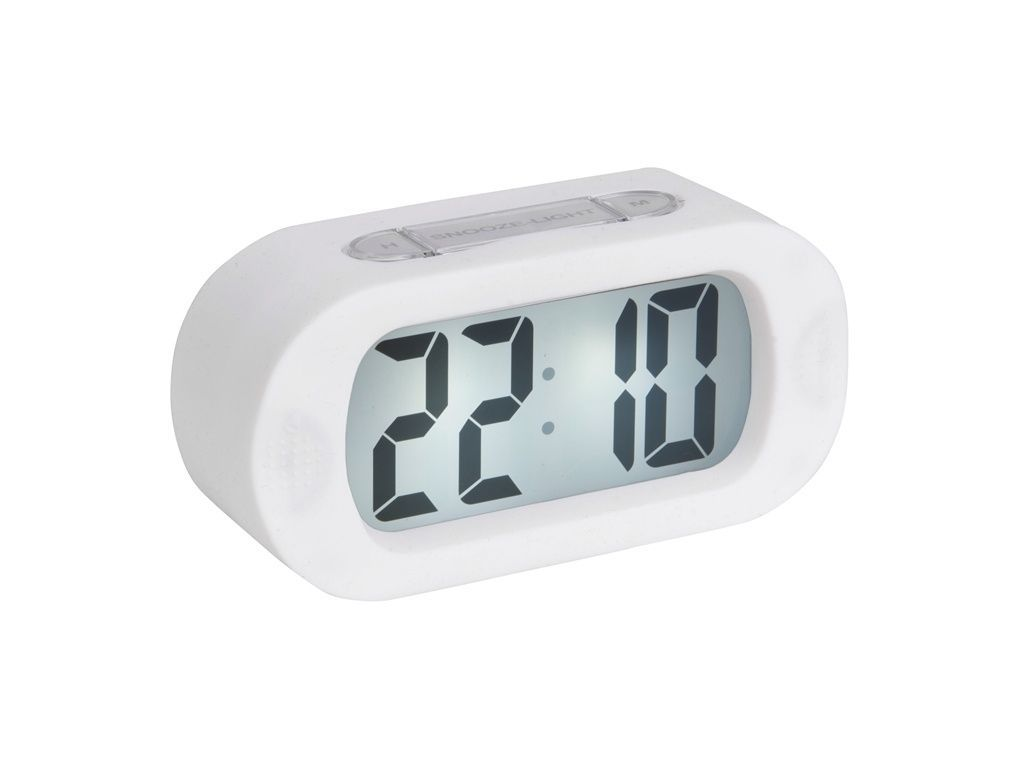 Stolní digitální hodiny-budík Karlsson KA5753WH 169505 Hodiny