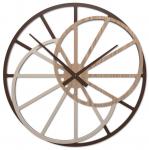 Designové hodiny 10-328n CalleaDesign Theresa 95cm (více dekorů dýhy) Dýha šedý kořen - 84 169679