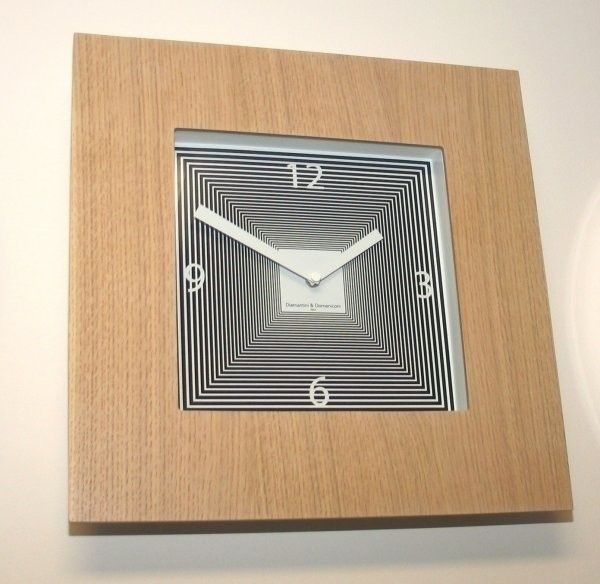 Designové hodiny Diamantini a Domeniconi Target dub 42cm 169668 Diamantini&Domeniconi Hodiny