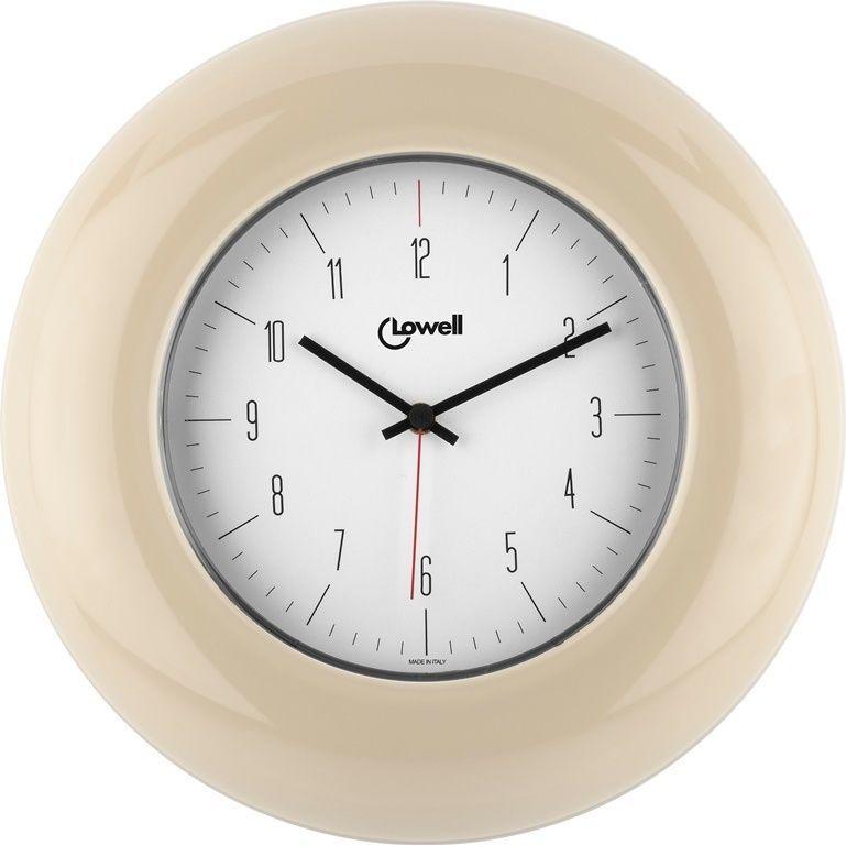 Designové nástěnné hodiny 03300C Lowell 33cm 169658 Lowell Italy Hodiny