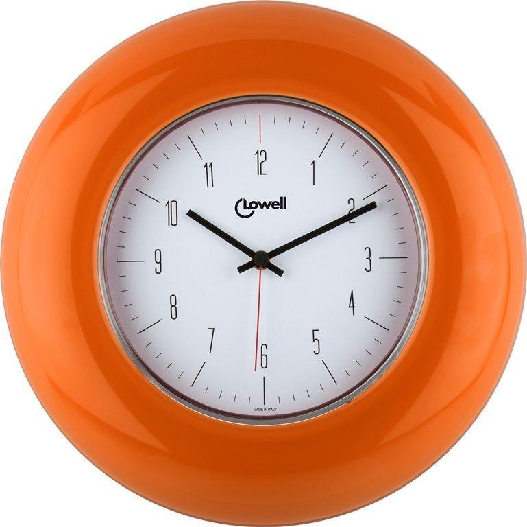 Designové nástěnné hodiny 03300OR Lowell 33cm 169660 Lowell Italy Hodiny