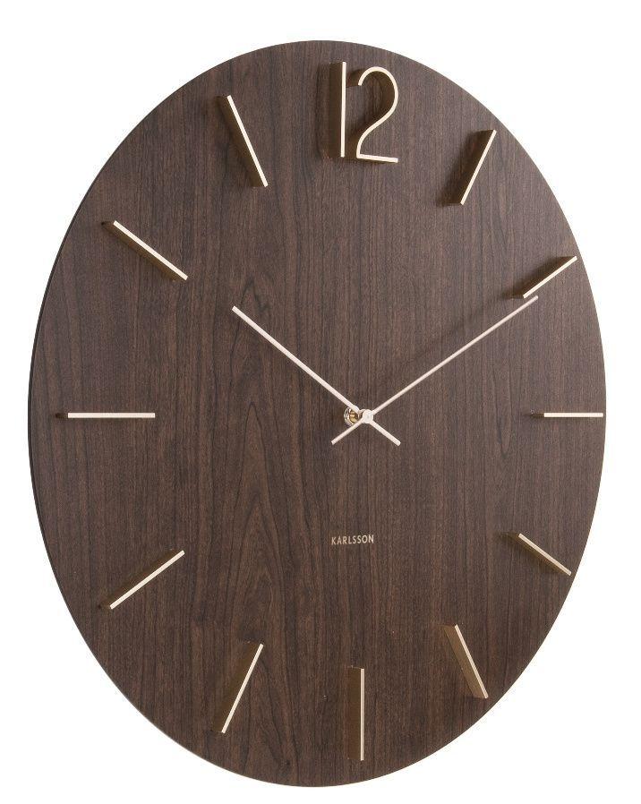 Designové nástěnné hodiny 5697DW Karlsson 50cm 169755