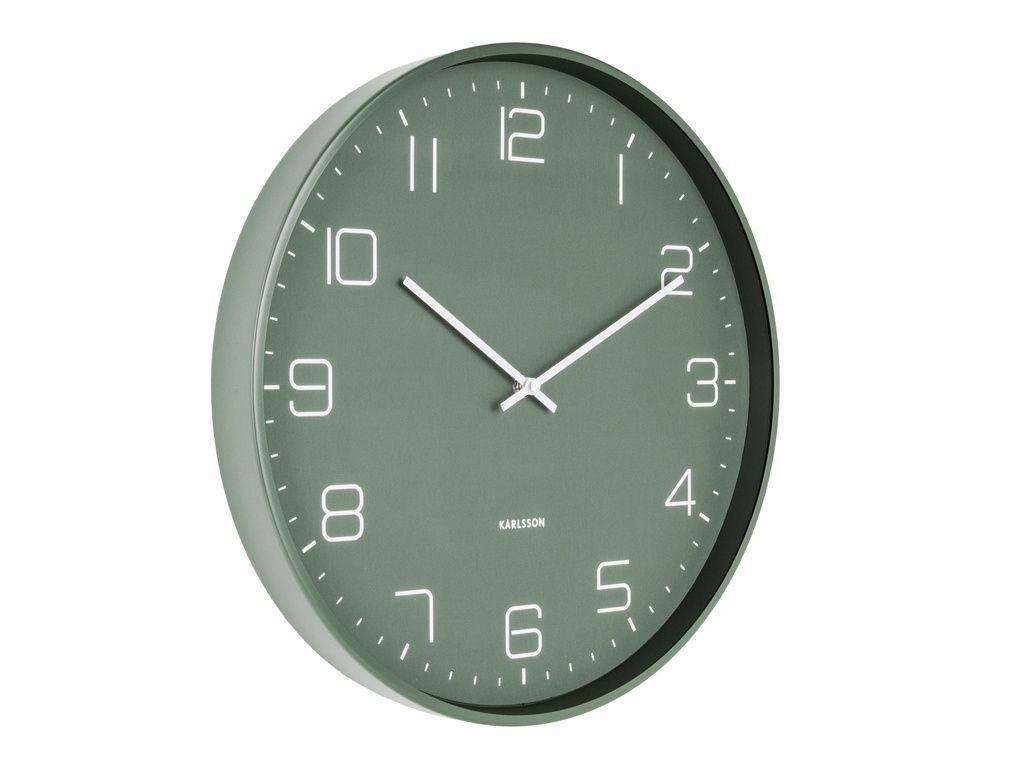 Designové nástěnné hodiny 5751GR Karlsson 40cm 169688 Hodiny