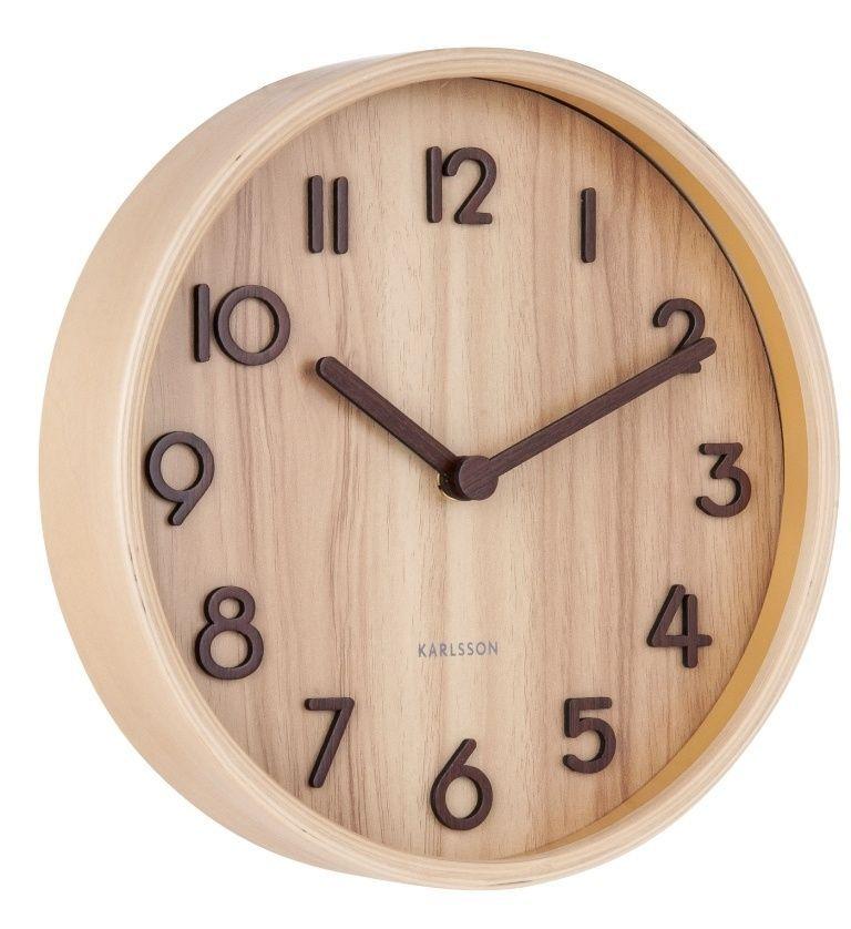 Designové nástěnné hodiny 5808WD Karlsson 22cm 169681 Hodiny