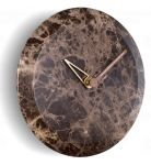 Designové nástěnné hodiny Nomon Bari M Emperador 32cm 169828