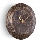 Designové nástěnné hodiny Nomon Bari S Emperador 24cm 169826