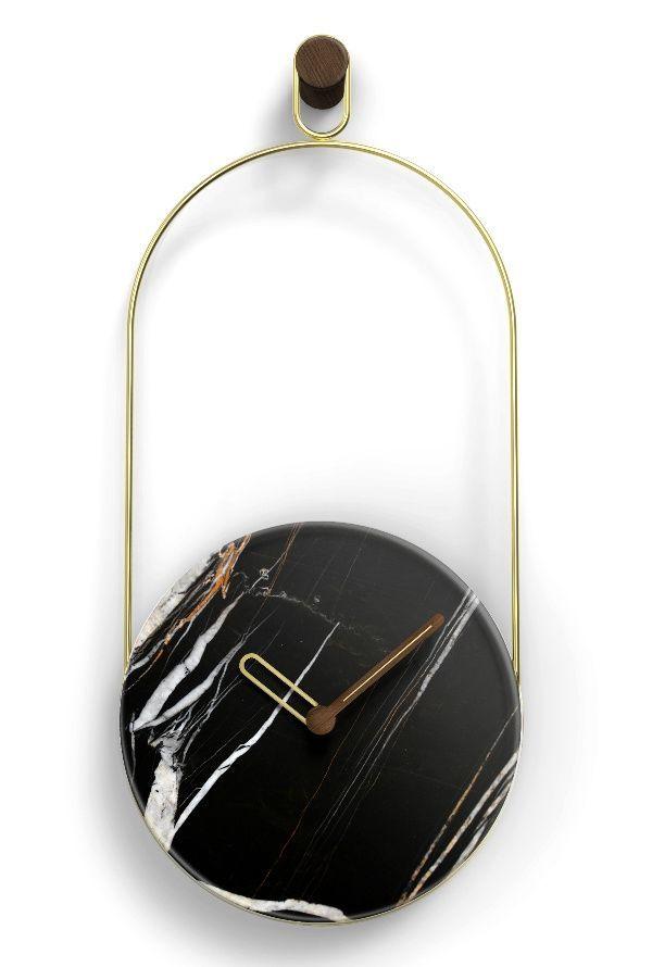 Designové nástěnné hodiny Nomon Eslabon Sahara 68cm 169782 Hodiny