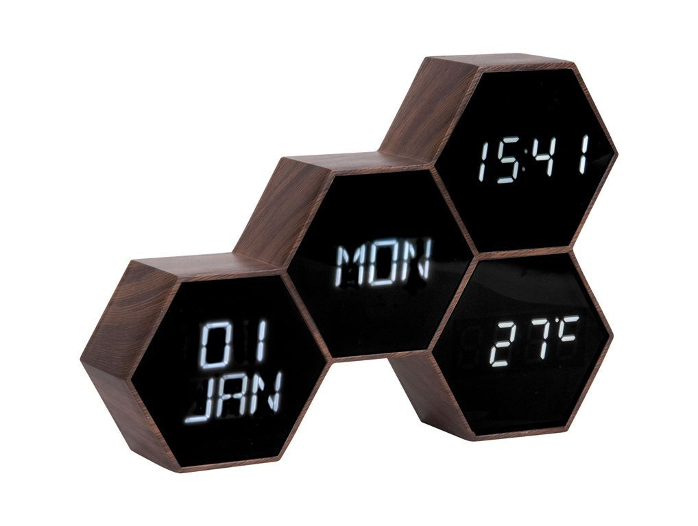 Digitální nástěnné/stolní hodiny KA5805WD Karlsson 18cm 169747 Hodiny