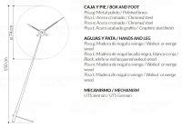 Designové podlahové hodiny Nomon Pisa Graphite 150cm 169784 Hodiny