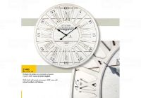 Designové nástěnné hodiny 21480 Lowell 60cm 169564 Lowell Italy Hodiny