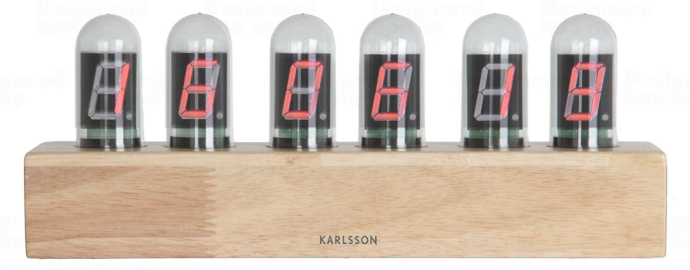 Designové digitální stolní hodiny 4204 Karlsson 28cm 169942 Hodiny
