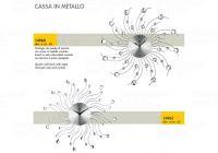 Designové nástěnné hodiny 14959 Lowell 50cm 169597 Lowell Italy Hodiny