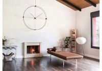 Designové nástěnné hodiny Nomon Delmori N černé 130cm 169950 Hodiny