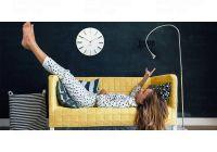 Designové nástěnné hodiny Future Time FT2010WH Round white 40cm 166550 Hodiny