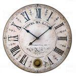 Designové nástěnné hodiny 21405 Lowell 48cm 170189