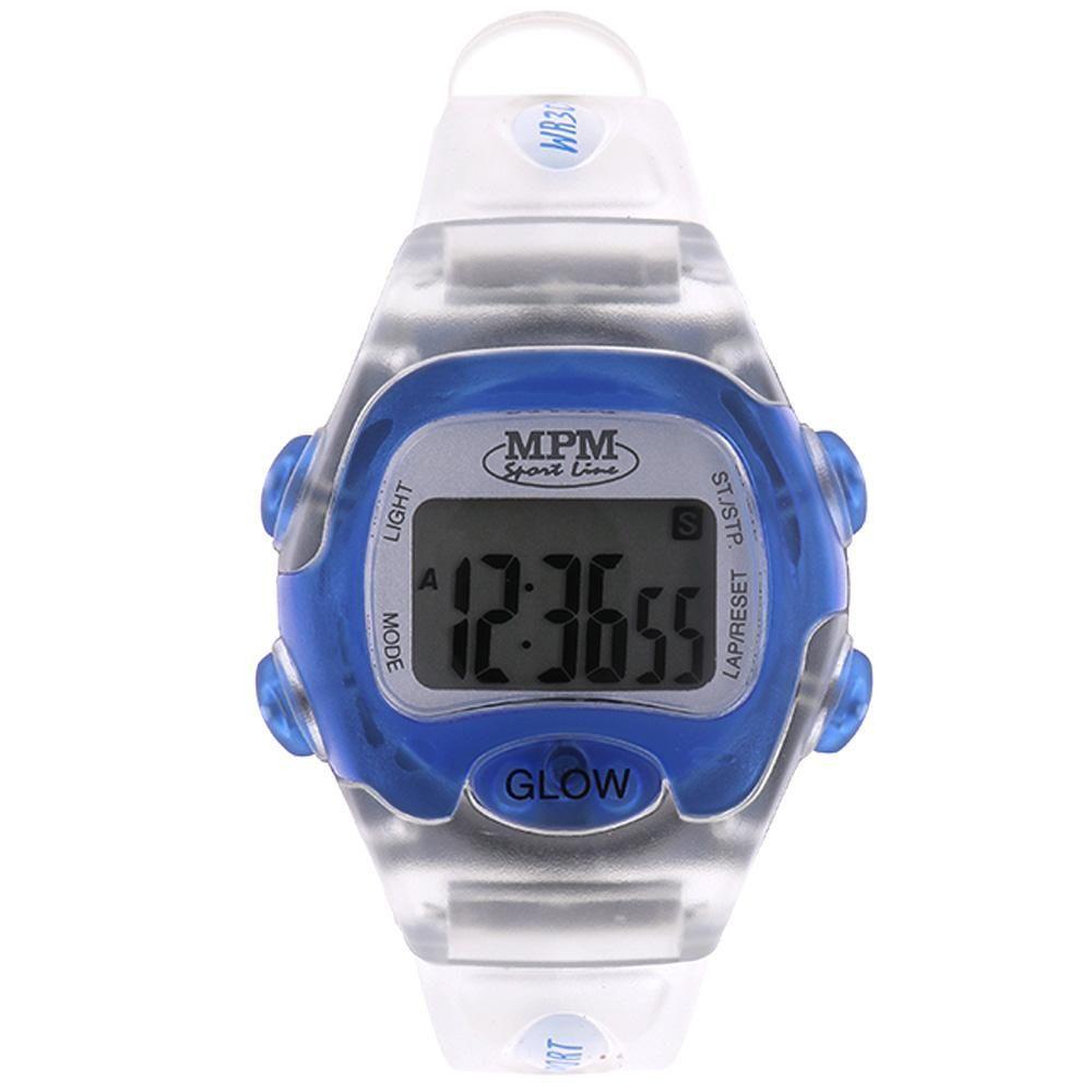 Digitální hodinky s ukazatelem data, alarmem, stopkami a podsvíceným displayem..01646 170181 Hodiny