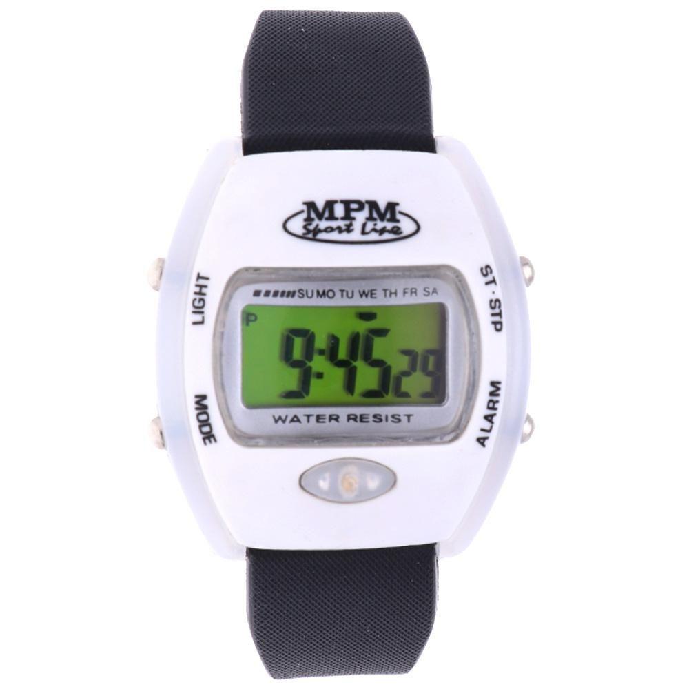 Digitální hodinky s ukazatelem data, alarmem, stopkami a podsvíceným displayem..01636 170171 Hodiny