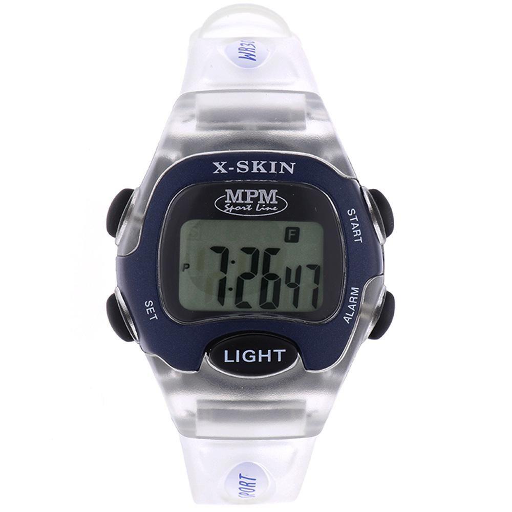 Digitální hodinky s ukazatelem data, alarmem, stopkami a podsvíceným displayem..01647 170182 Hodiny