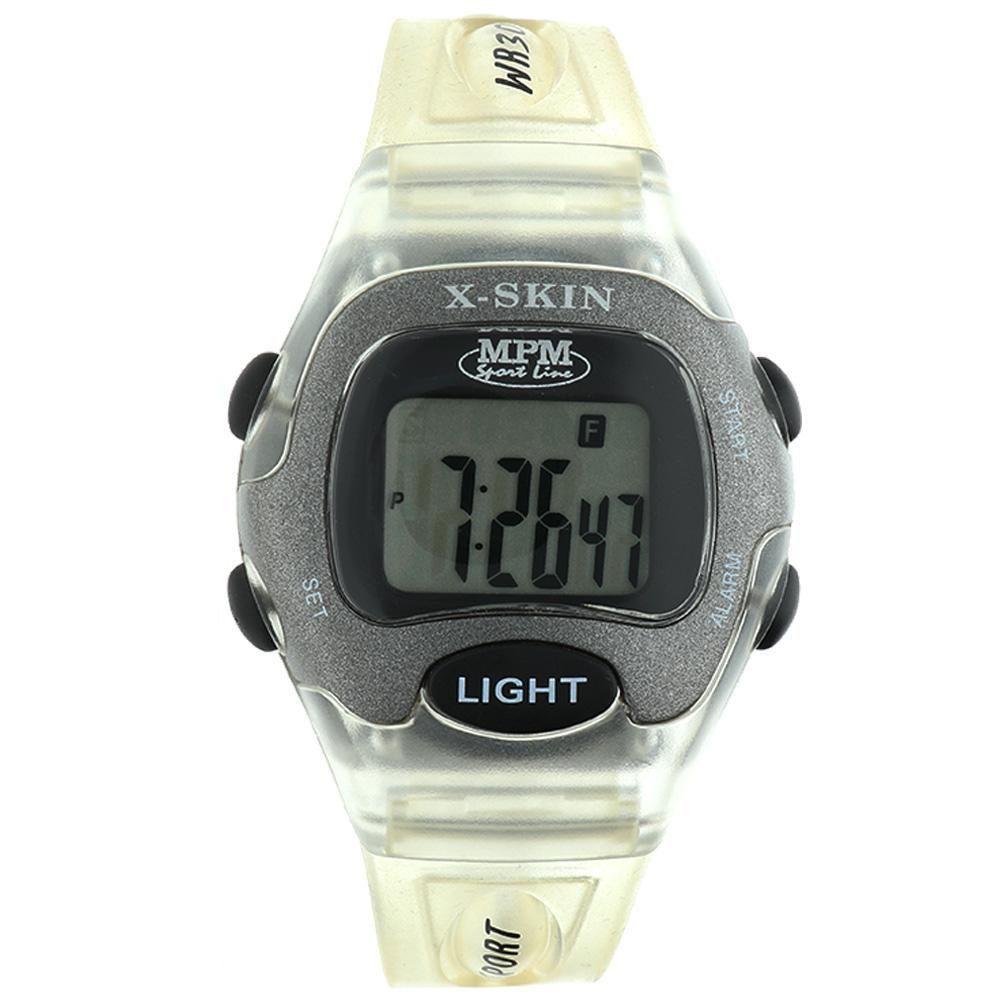 Digitální hodinky s ukazatelem data, alarmem, stopkami a podsvíceným displayem..01648 170183 Hodiny